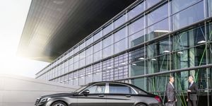The Maybach S600 goes on sale in April.