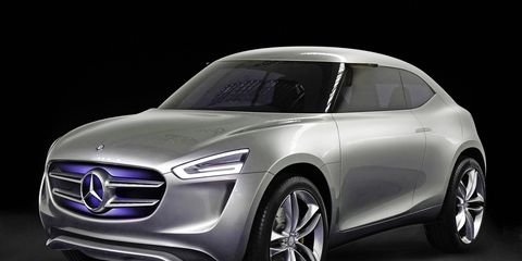 The 310-mile EV Mercedes could take the shape of a crossover, previewed by the G-Code concept in 2014.