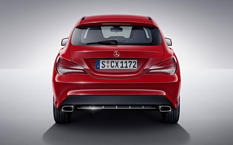 The 2015 Mercedes-Benz CLA Shooting Brake will make use of existing engines in the CLA lineup, which includes two diesels and four gas engines.