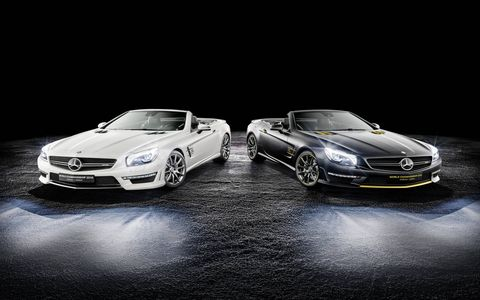 Mercedes-Benz is only producing 19 of each model.