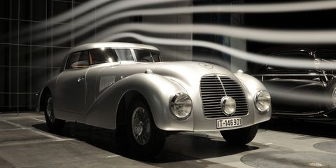 This 1938 Mercedes-Benz 540K Streamliner was restored over the course of two and a half years.