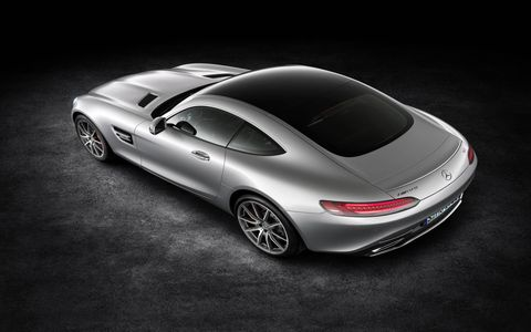 The 2016 Mercedes-Benz AMG GT S comes out next spring.
