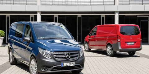 The Vito will be available in three lengths and two wheelbases.