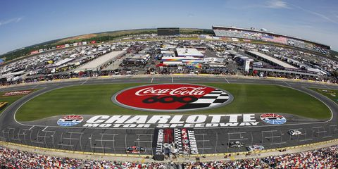 Charlotte Motor Speedway will host four mixed martial art fights prior to the Monster Energy NASCAR All-Star Race