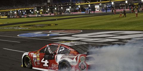 Kevin Harvick, who has already clinched a spot in the next round of the Chase, is pressure-free going into Talladega this weekend.
