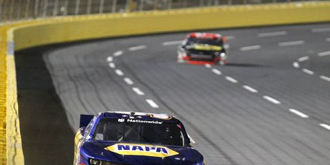 Chase Elliott has a 42-point lead in the NASCAR Nationwide Series, and is looking for a championship.
