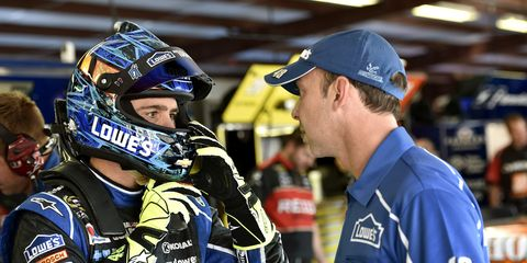 Jimmie Johnson and Chad Knaus faced scrutiny last season after going 11 races before a win. The pair put an end to that kind of talk this season by winning the second race of 2015.