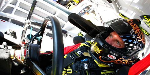 On Wednesday, NASCAR Sprint Cup driver Clint Bowyer and his wife Lorra welcomed their first child, a baby boy.