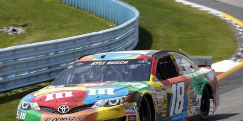 Joe Gibbs Racing and Mars have inked a deal to keep Kyle Busch and the No. 18 car rocking the M&Ms livery.