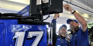 Mike Kelley, Ricky Stenhouse Jr.'s crew chief, was recently fined $50,000 by NASCAR following the Homestead-Miami race.