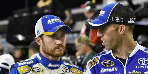 Brian Vickers, who is unable to race in NASCAR because of blood clots, is set to join NBC to help cover the sport.