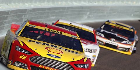 Joey Logano is still disappointed after not winning the NASCAR Sprint Cup.