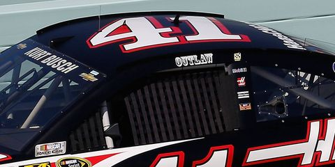 Kurt Busch is returning to the NASCAR Sprint Cup Series this weekend, minus his 'Outlaw' nickname on his car.