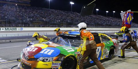 Kyle Busch had foot surgery to relieve inflammation on Wednesday.