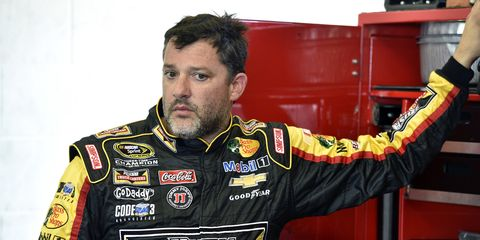 The question on a lot of minds, including Tony Stewart's, is how NASCAR and auto racing move forward after Saturday's tragedy?