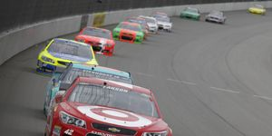 Kyle Larson, shown, along with Clint Bowyer and Greg Biffle are on the hot seats when it comes to the NASCAR Chase for the Sprint Cup.