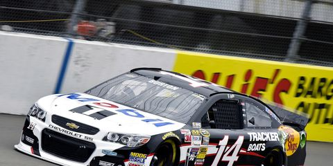 Jeff Burton will be driving the No. 14 at Bristol Motor Speedway on Saturday night in place of Tony Stewart.