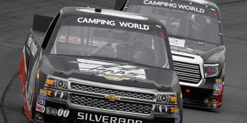 Cole Custer, 17, is seeking his second NASCAR Camping World Truck Series win of the season.