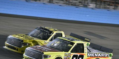 Matt Crafton is poised to win NASCAR trucks title on Friday.