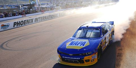 Chase Elliott won the NASCAR Nationwide championship in his first season.