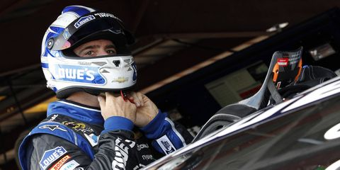 Jimmie Johnson is confident about his chances going into the Chase.