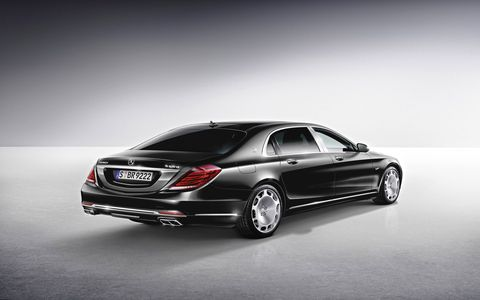 The 2016 Mercedes-Maybach returned after a small hiatus at the Los Angeles Auto Show.