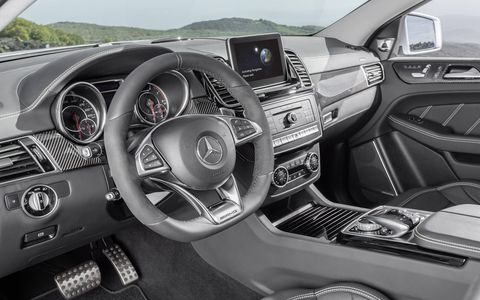 The Mercedes GLE63 AMG was introduced at the 2015 Detroit auto show