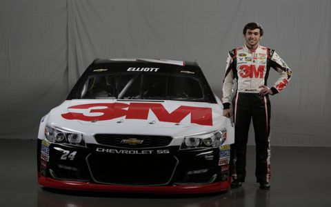 Chase Elliott will drive the No. 24 Chevrolet SS for Hendrick Motorsports in 2016.