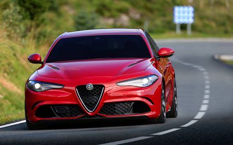 A double wishbone front suspension and a multi-link rear suspension will help this Alfa sedan compete with the other track devouring