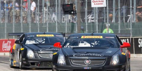Johnny O'Connell won his third consecutive Pirelli World Challenge title in the GT class.