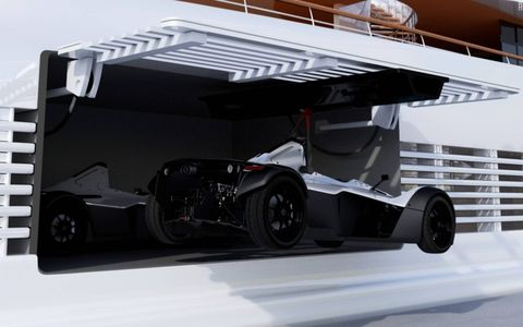 Briggs Automotive Co. revealed its ultra-luxe Mono Marine Edition.