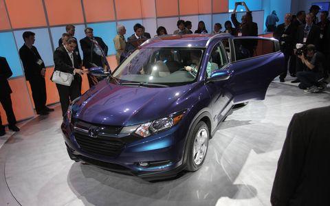 2016 Honda HR V at the Los Angeles Auto Show