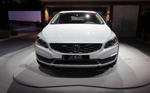 Volvo V60 Cross Country at the LA Auto Show