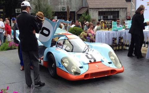 This Canepa 917 won Best in Show.