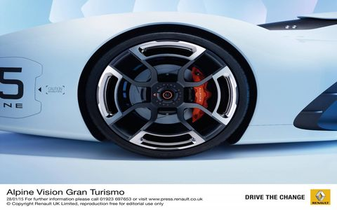 "The Alpine Vision Gran Turismo is the latest in virtual concepts to come to the ""Gran Turismo 6"" driving simulator."