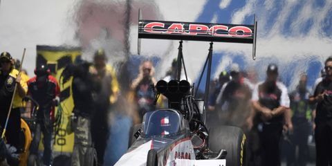 Steve Torrence scored his third victory of the season with a 3.857-second pass at 320.28 mph.