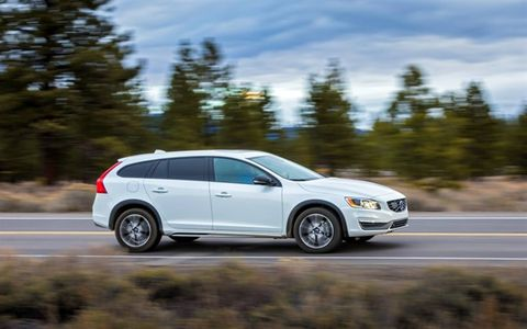 The V60 T5 AWD Cross Country is powered by a 2.5-liter five-cylinder turbocharged engine that produces 250 horsepower @ 5,400 rpm and 266 lb.-ft. of torque @ 1,800-4,200 rpm.