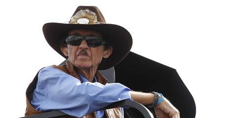 Richard Petty weighed in on the Confederate flag on Friday at Daytona International Speedway