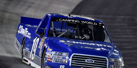 Points leader Tyler Reddick has virtually no breathing room in the NASCAR Camping World Truck Series points race.