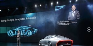 Mercedes-Benz concept from the 2015 IAA.