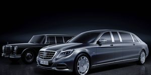 The 2016 W222-generation Pullman will feature a different exterior layout compared to the outgoing model, making use of the Mercedes-Maybach architecture.