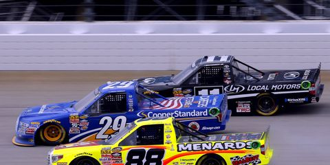 The NASCAR Camping World Truck Series will hold its 500th race on Saturday.
