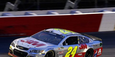 Jeff Gordon is looking for a strong finish in Richmond.