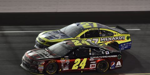 Jeff Gordon (24) is going to be very particular about any returns to NASCAR Sprint Cup Series racing after 2015.