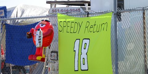 NASCAR is taking a harder look at safety and SAFER barriers after Kyle Busch's devastating wreck at Daytona. Busch suffered a compound fracture in his leg after hitting an unprotected wall.