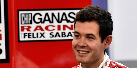 Kyle Larson hopes to the be new face of NASCAR.