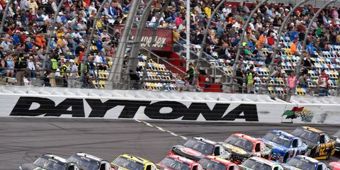 Daytona International Speedway will be a busy place in February.
