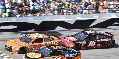 A Daytona 500 victory still eludes Tony Stewart. He's 0-for-17 after wrecking on Sunday.