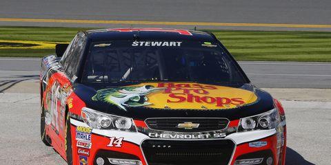 Tony Stewart will start 15th in the first Duel on Thursday night at Daytona International Speedway.