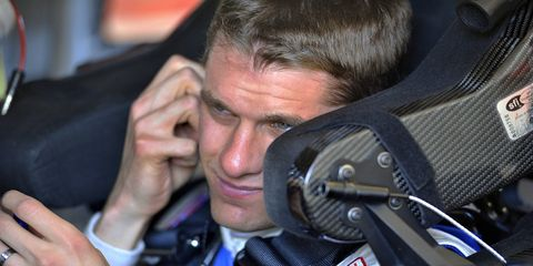 David Ragan had his team and sponsors on the edge of their seats before he finally qualified for the Daytona 500 on Thursday night.